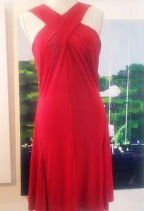 NWOT MICHAEL KORS RED DRESS